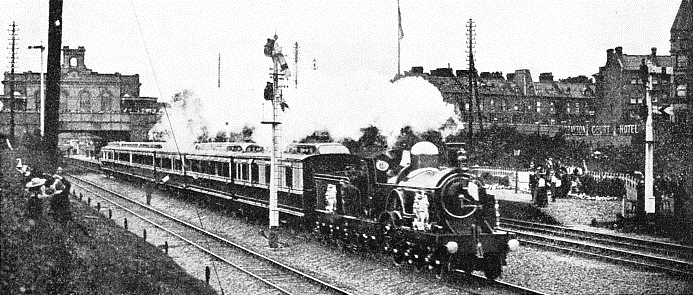 THE ROYAL SPECIAL that carried Queen Victoria from Windsor to London for the 1897 Jubilee.