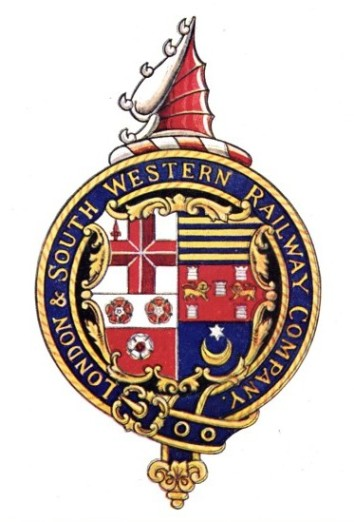 London & South Western Railway coat of arms