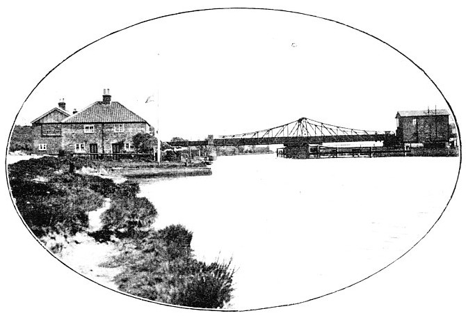 Reedham Swing bridge, Great Eastern Railway
