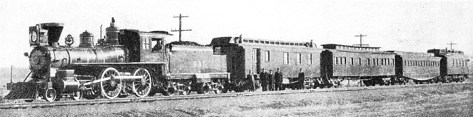 IN THE EARLY DAYS of the Union Pacific Railroad
