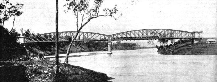 The Indooroopilly Bridge near Brisbane, Queensland
