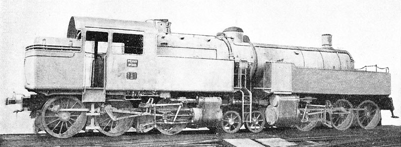 "A POWERFUL TANK ENGINE of the 0-6-2 + 2-6-0 ""du Bousquet"" articulated type"