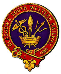 GLASGOW AND SOUTH WESTERN RAILWAY crest