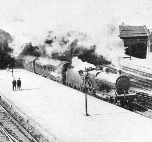 Steaming south from Perth Station