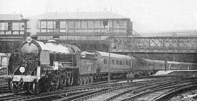 "The ""Atlantic Coast Express"" leaving Waterloo station"