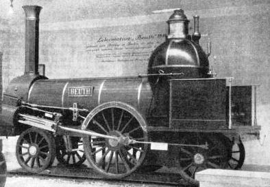 AN EARLY GERMAN ENGINE