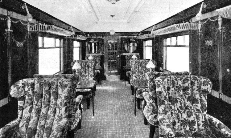 "Pullman coach used on the ""Golden Arrow"""