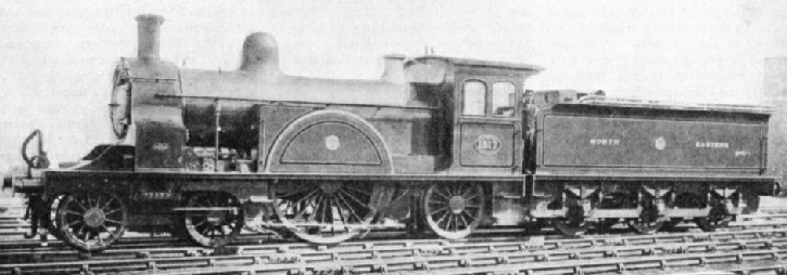 A North Eastern Railway two-cylinder compound engine