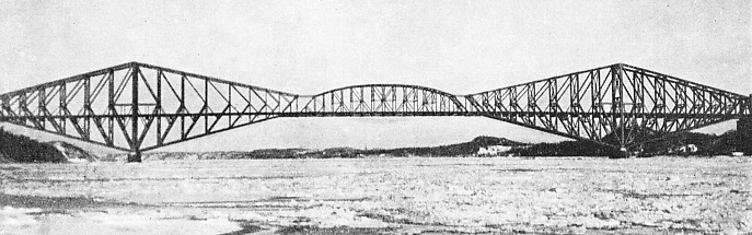 The Quebec bridge at Montreal