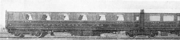 "Articulated restaurant car form part of the ""Flying Scotsman"""