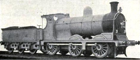 LATEST TYPE OF GOODS ENGINE, NO. 664, Caledonian Railway