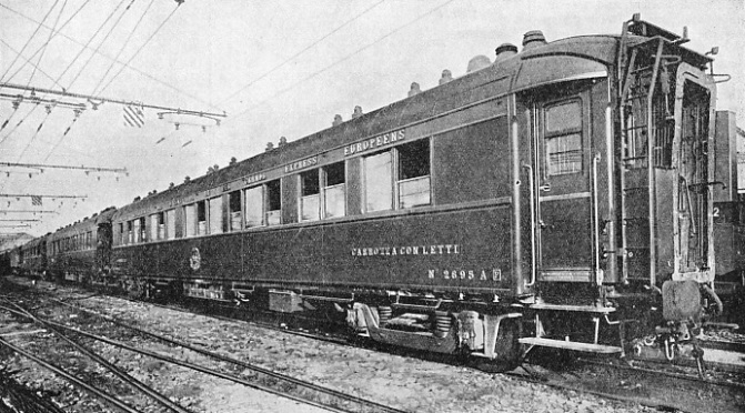 MODERN CARRIAGES owned by the International Sleeping Car Company