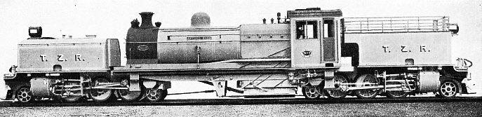 "A ""Beyer-Garratt"" on the Trans-Zambesia Railway"