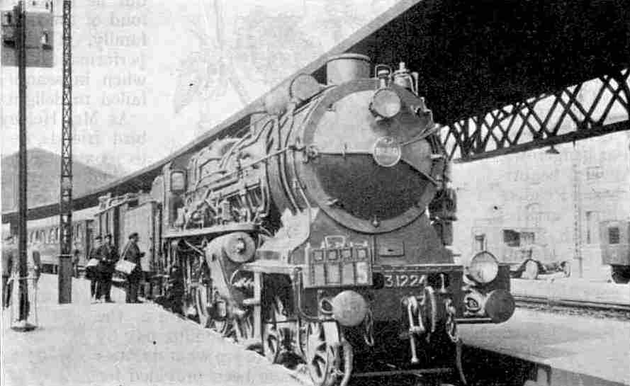 Super-Pacific 4-cylinder compound express locomotive No. 3.1224