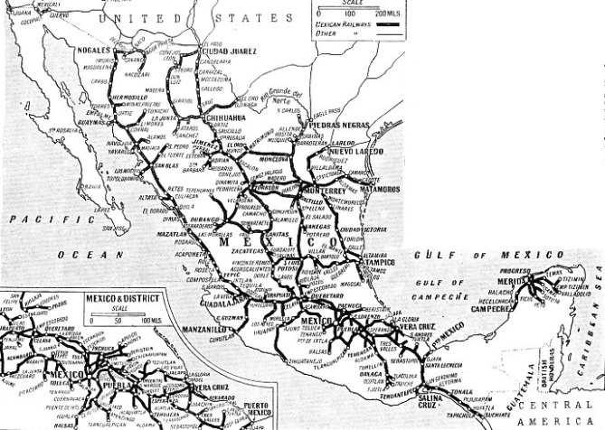 THE PRINCIPAL RAILWAYS OF MEXICO