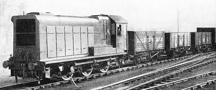 a six-coupled Diesel locomotive built by The English Electric Company