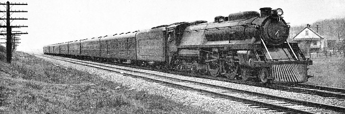 """ABRAHAM LINCOLN"", one of the new high-speed trains of the Baltimore and Ohio Railroad"