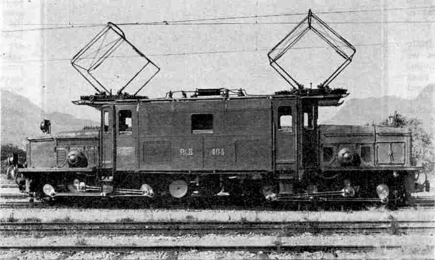 0-6-6-0 Electric locomotive, used for hauling the Engadine Express