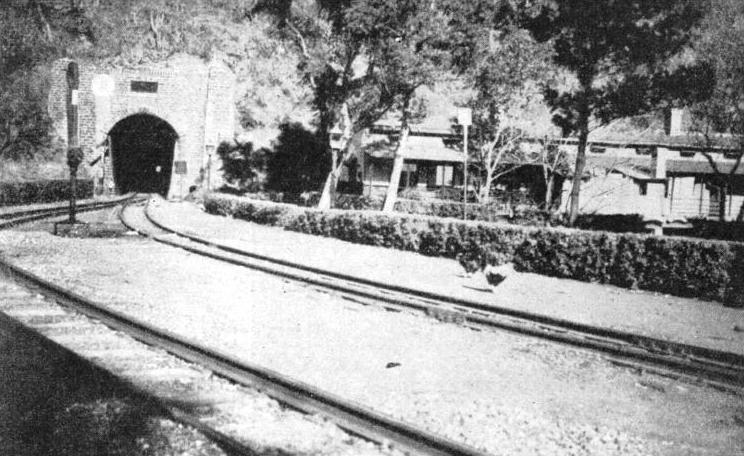 KOTI, a station on the 2 ft 6-in gauge Kalka-Simla section of the North Western Railway