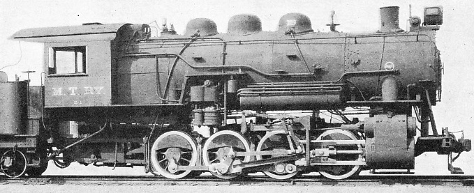 Southern valve gear applied to a Midland Terminal locomotive