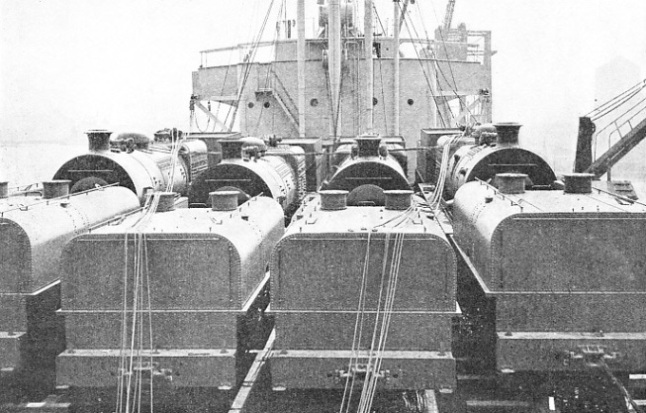 "In 1929 ten ""Beyer-Garratt"" articulated engines were shipped from Birkenhead, Cheshire, to Rosario, Argentina"