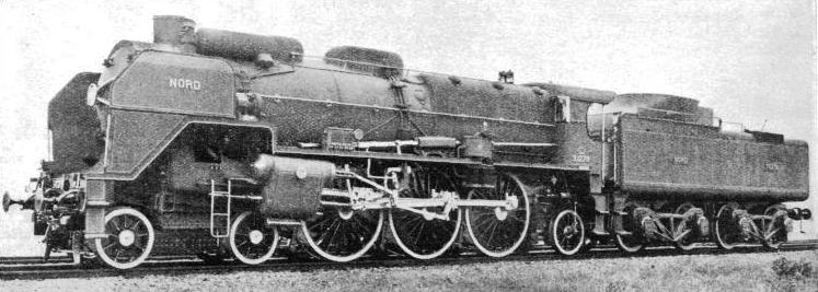 "A Nord ""Super-Pacific"" four-cylinder compound locomotive"
