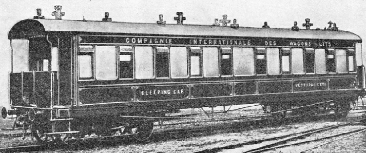 A SLEEPING CAR OF 1884