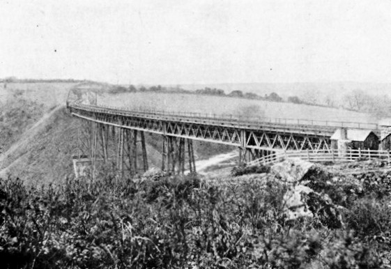 Meldon viaduct London & South Western Railway