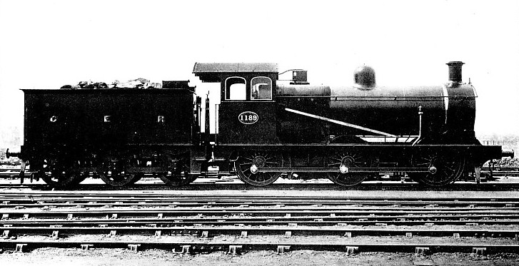 Main line goods engine, Great Eastern Railway