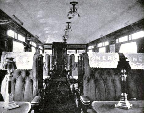 First-class Dining Saloon, North Eastern Railway