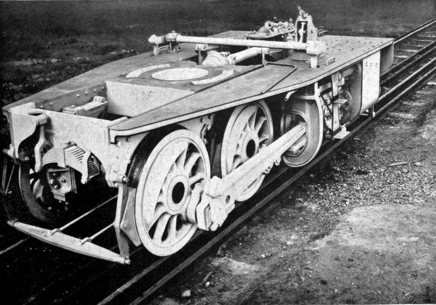 "ONE MOTOR BOGIE OF THE ""FAIRLIE"" ENGINE USED ON THE MEXICAN RAILWAY"