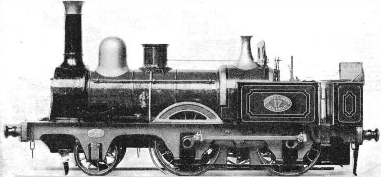 A North London Railway 2-4-0 tank of 1855