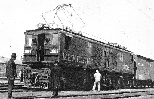 AT ESPERANZA STATION, a junction on the lines of the Mexican Railway