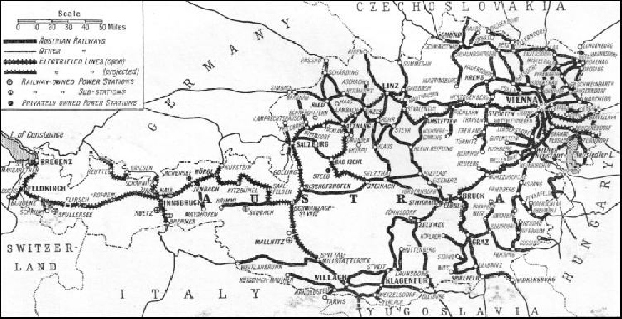Austrias Rail Transport