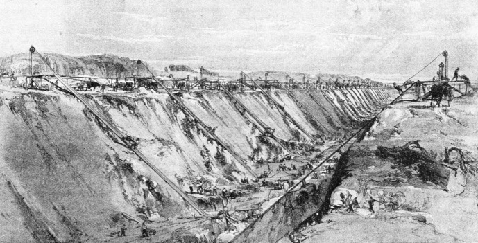 The construction of Tring Cutting