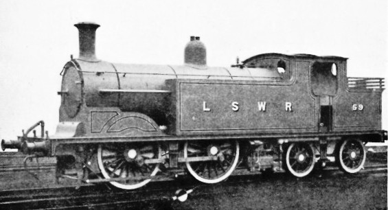 Tank Engine No 59 London & South Western Railway