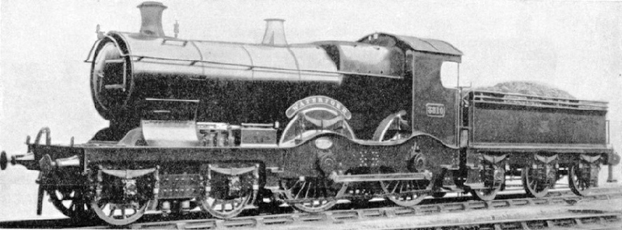 """Waterford"", an express engine of 1899 for the GWR"