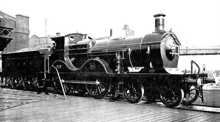 Loco No. 273 at Cannon Street, South Eastern & Chatham Railway