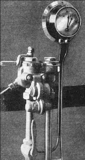 Control mechanism of the Westinghouse brake