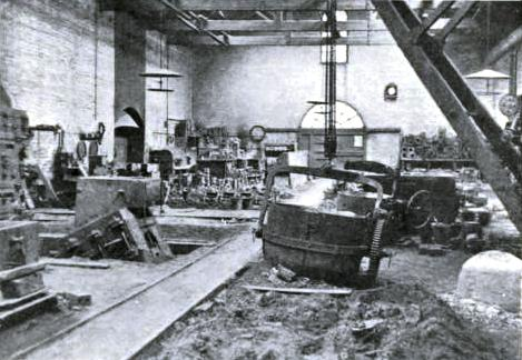THE HEAVY FOUNDRY at Cowlairs