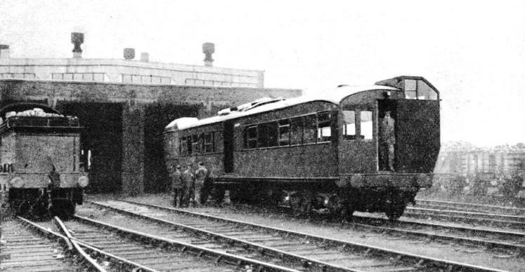 THE NORTHERN COUNTIES COMMITTEE has constructed rail-cars for light suburban work