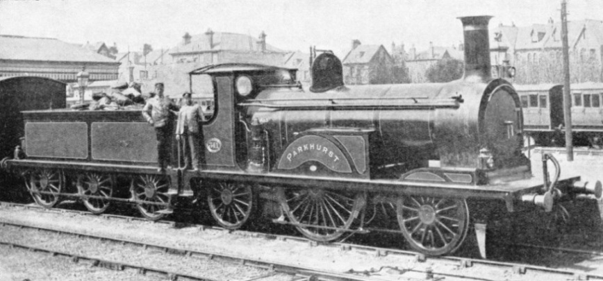 Strouldey's express engine for the LBSCR