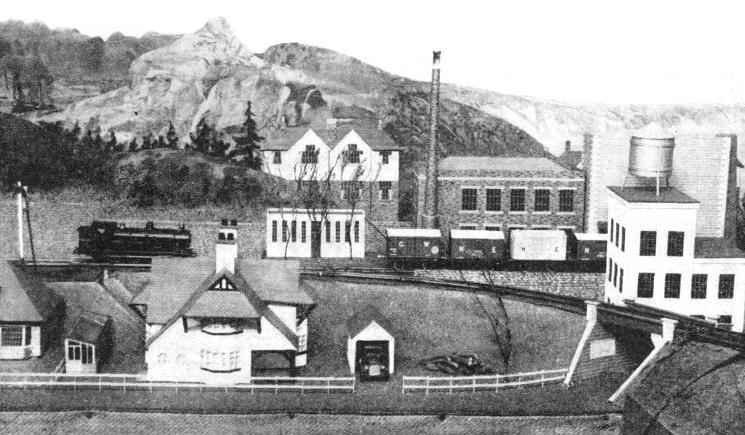 AN ELECTRIC SYSTEM with 500 ft of main line owned by the Rev. Edward Beal, of Dundee