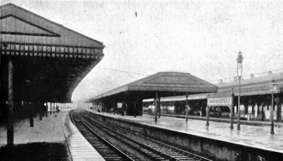 basingstoke station London & South Wsetern Railway