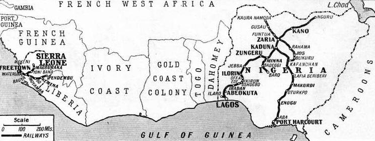 THE RAILWAY SYSTEMS of Nigeria and Sierra Leone