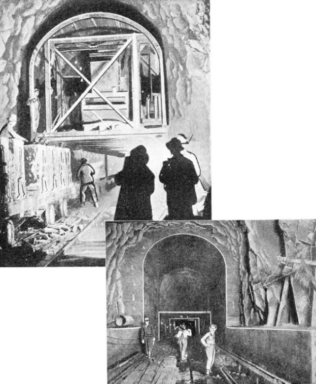 Constructing the Cascade Tunnel