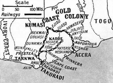 THE RAILWAY SYSTEM of the Gold Coast