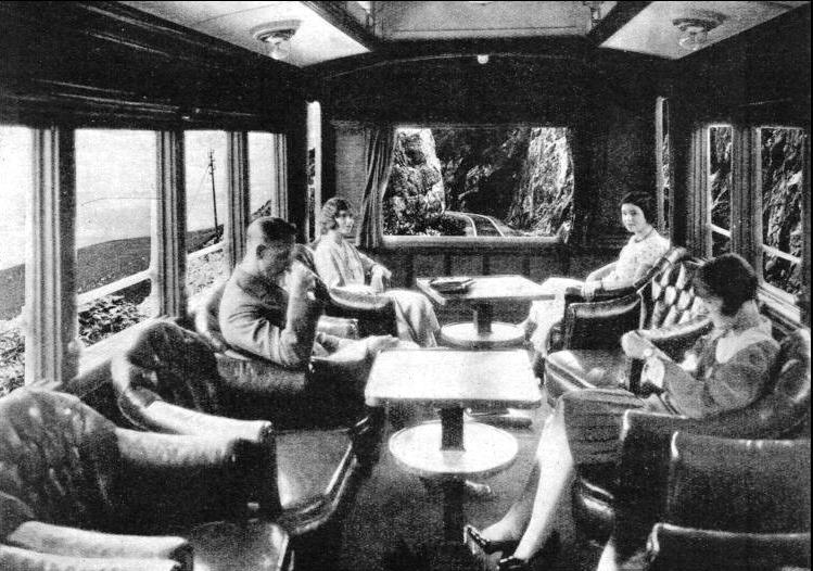 "the observation coach on the ""Union Limited."""