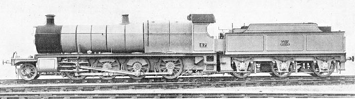 "THE FIRST BRITISH LOCOMOTIVE OF THE ""CONSOLIDATION"" (2-8-0) TYPE, 1903"