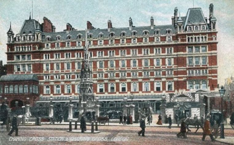 Charing Cross station, South Eastern & Chatham Railway